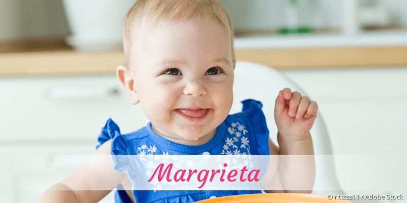 Name Margrieta als Bild