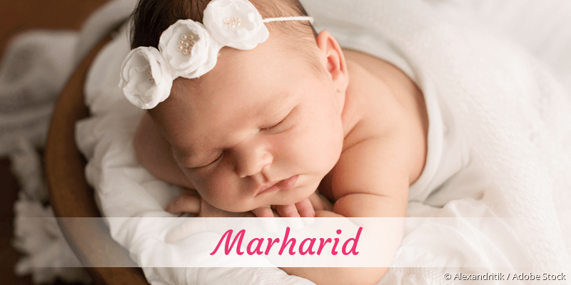 Name Marharid als Bild