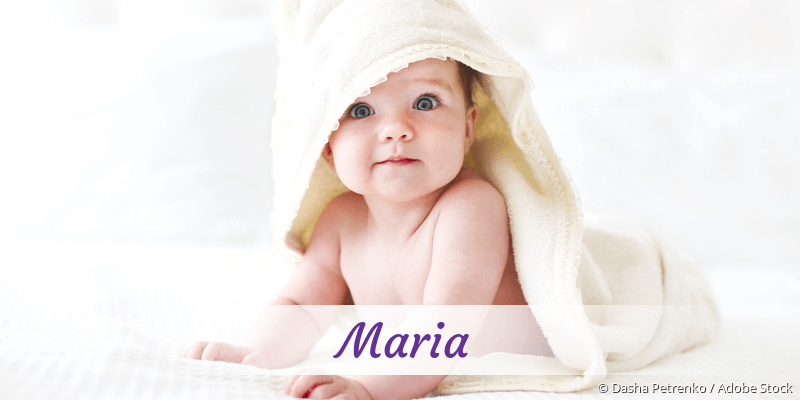 Name Maria als Bild