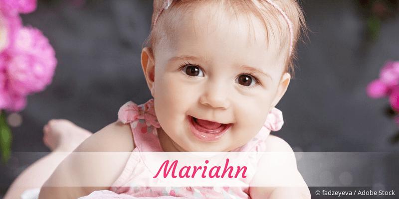 Name Mariahn als Bild
