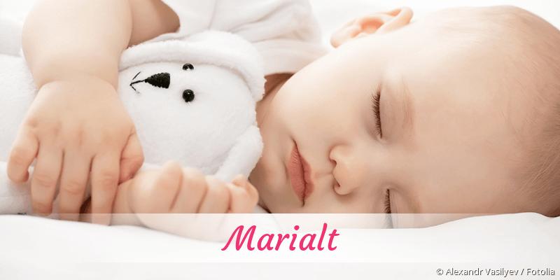 Name Marialt als Bild