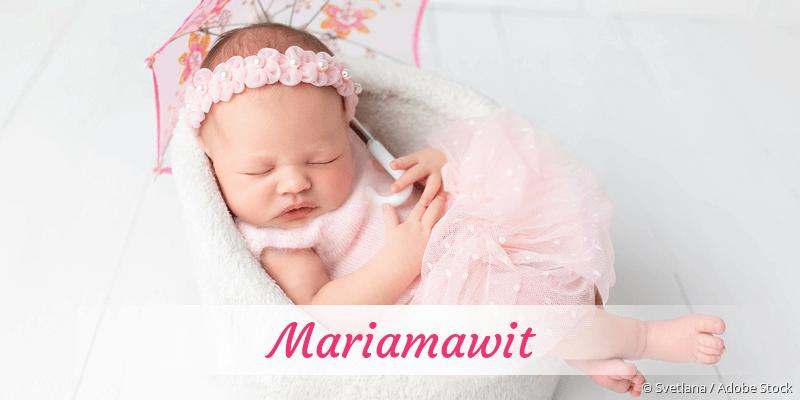 Name Mariamawit als Bild