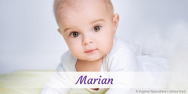 Name Marian als Bild