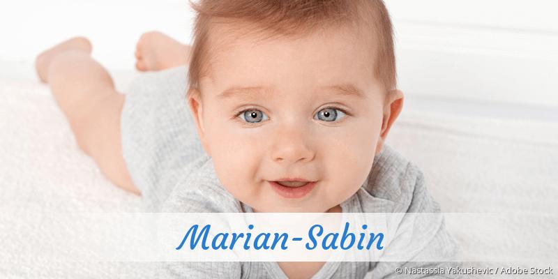 Name Marian-Sabin als Bild