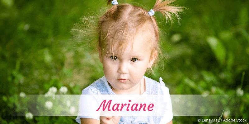 Name Mariane als Bild