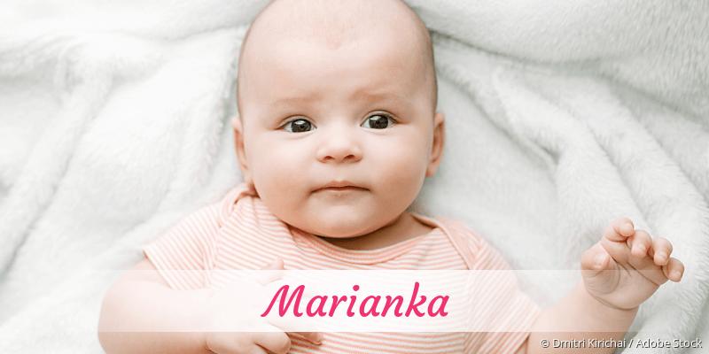 Name Marianka als Bild