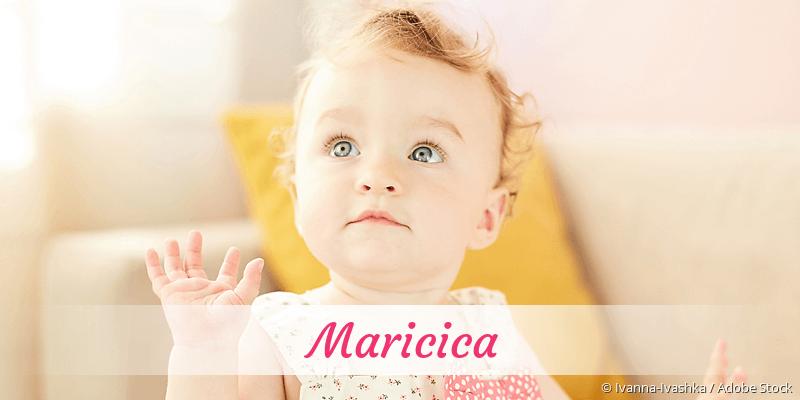 Name Maricica als Bild