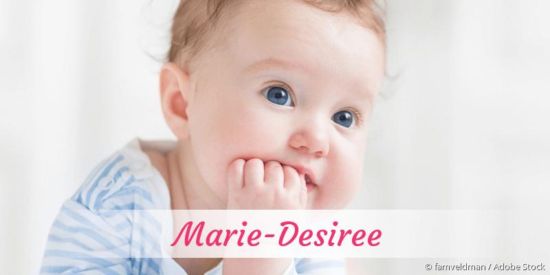 Name Marie-Desiree als Bild
