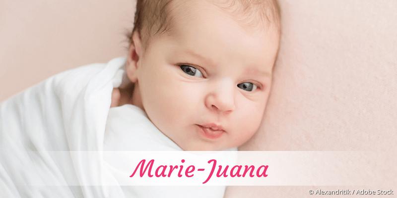 Name Marie-Juana als Bild