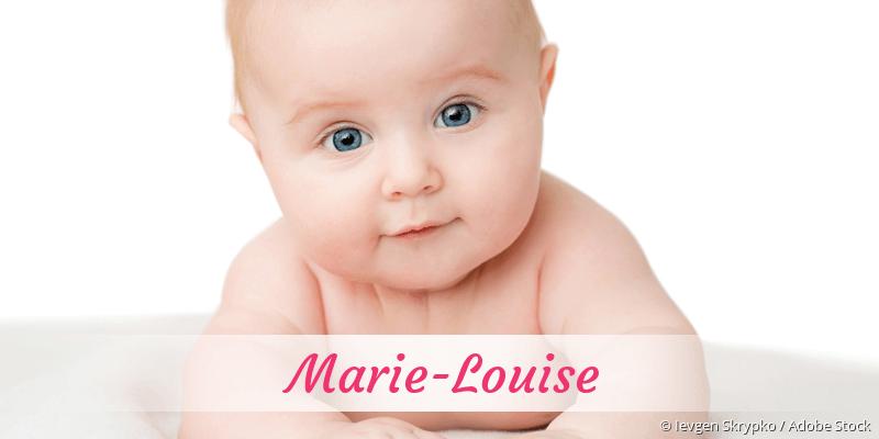 Name Marie-Louise als Bild