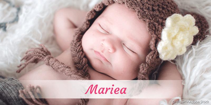 Name Mariea als Bild