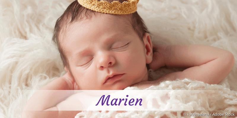 Name Marien als Bild