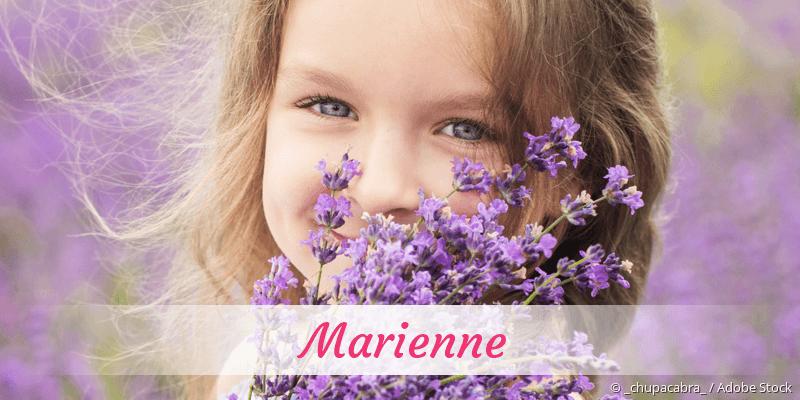 Name Marienne als Bild