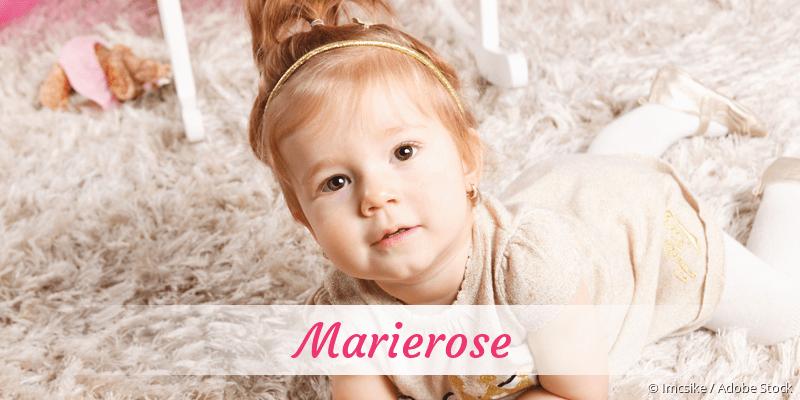 Name Marierose als Bild