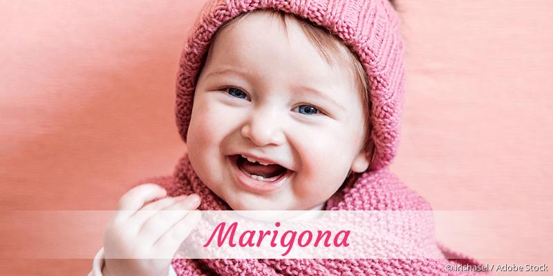 Name Marigona als Bild