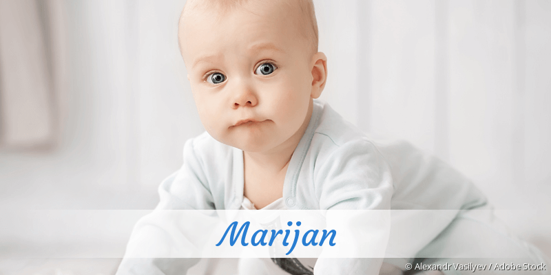 Name Marijan als Bild