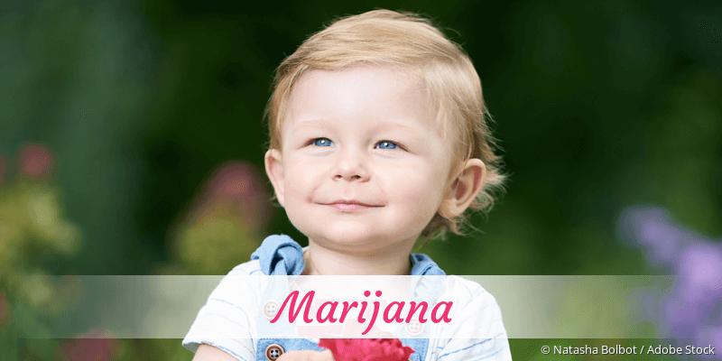 Name Marijana als Bild