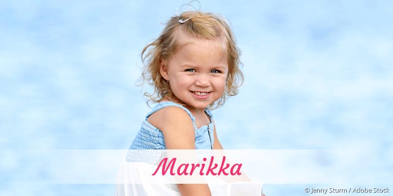 Name Marikka als Bild