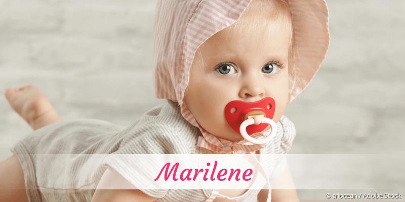 Name Marilene als Bild
