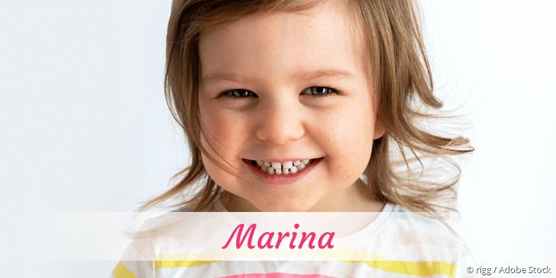 Name Marina als Bild