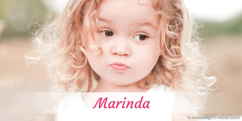 Name Marinda als Bild