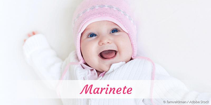 Name Marinete als Bild