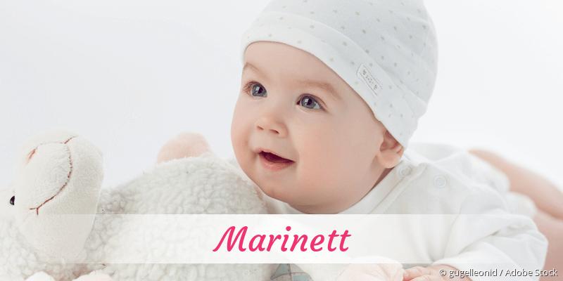 Name Marinett als Bild