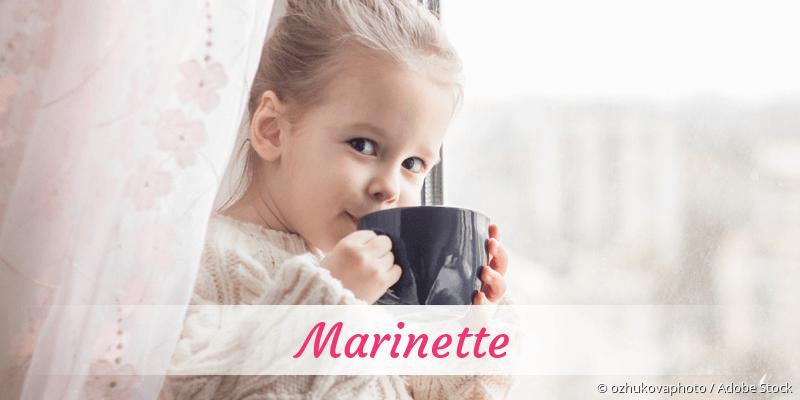 Name Marinette als Bild