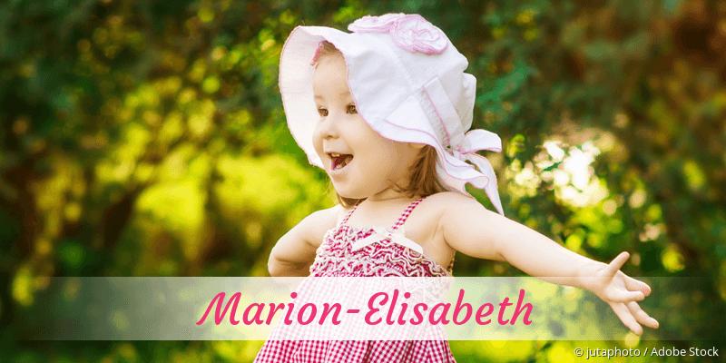 Name Marion-Elisabeth als Bild