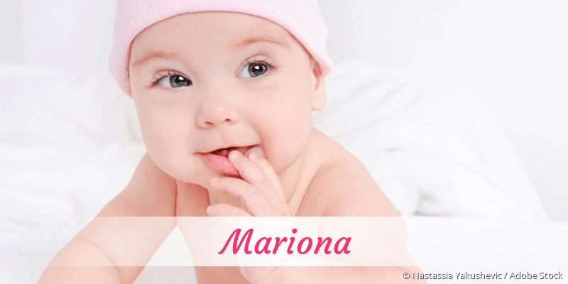 Name Mariona als Bild