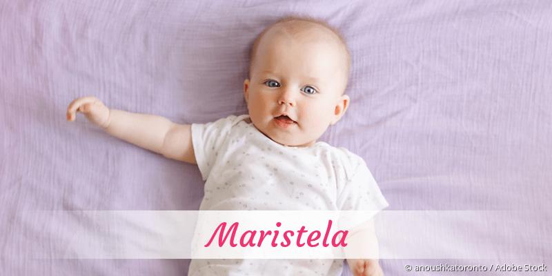 Name Maristela als Bild
