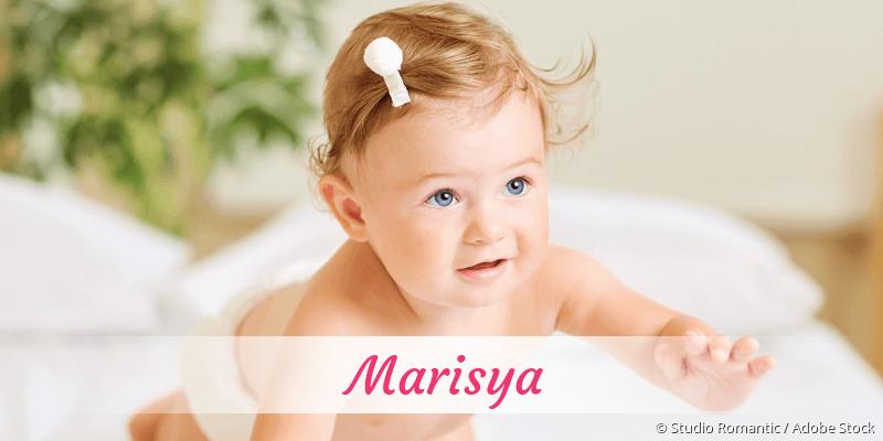 Name Marisya als Bild