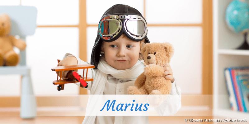 Name Marius als Bild