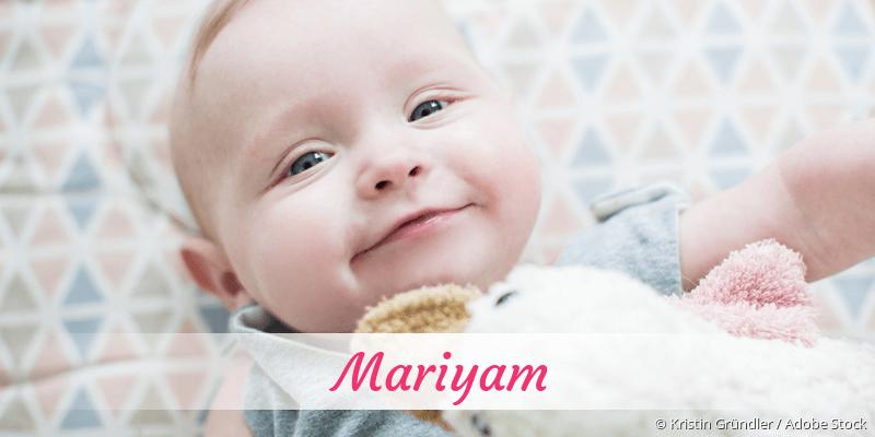 Name Mariyam als Bild