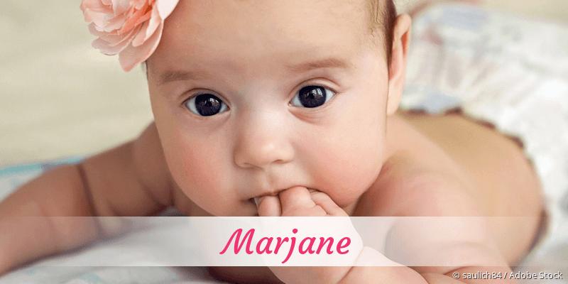 Name Marjane als Bild