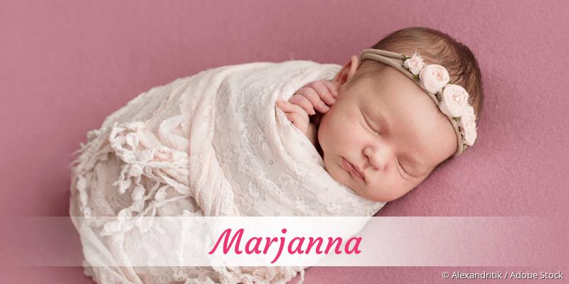 Name Marjanna als Bild