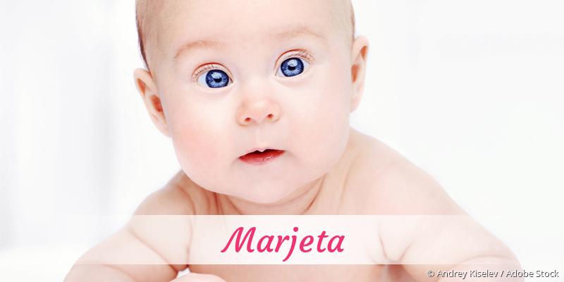 Name Marjeta als Bild