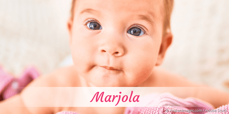 Name Marjola als Bild