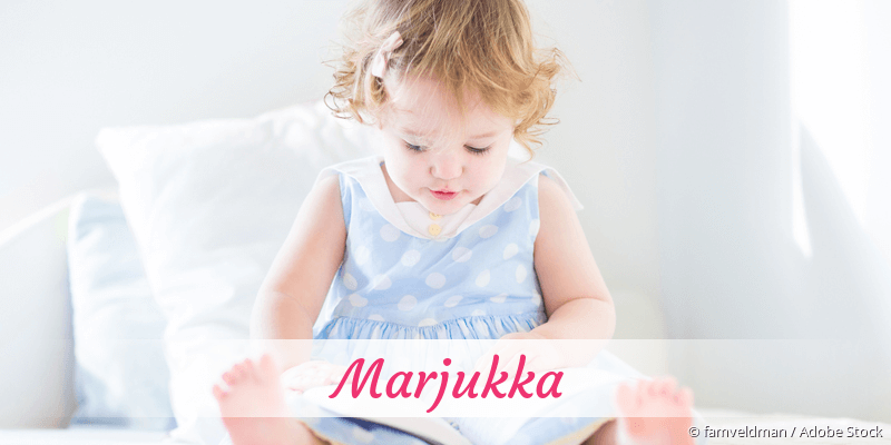 Name Marjukka als Bild
