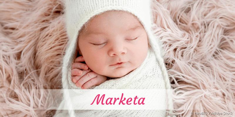 Name Marketa als Bild