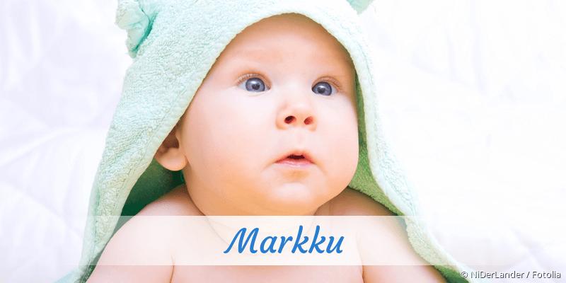 Name Markku als Bild
