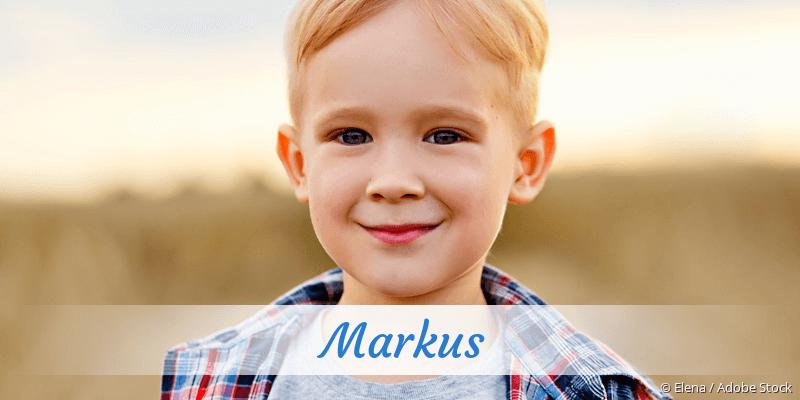Name Markus als Bild