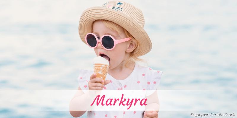 Name Markyra als Bild