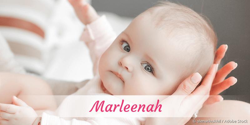 Name Marleenah als Bild