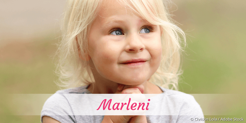 Name Marleni als Bild