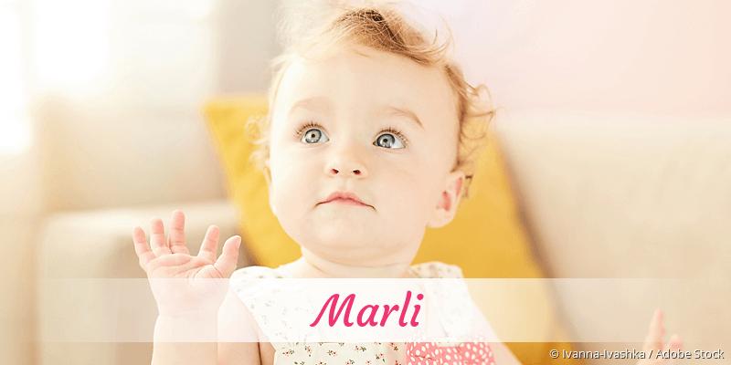 Name Marli als Bild