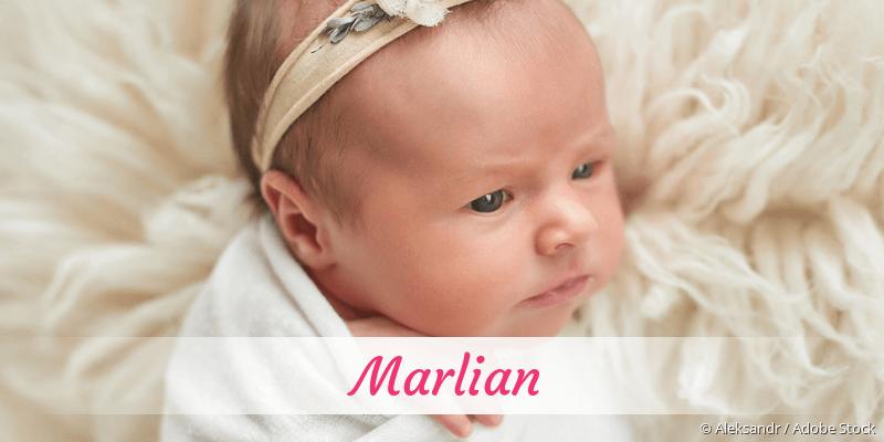 Name Marlian als Bild