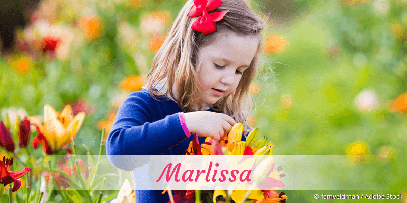 Name Marlissa als Bild