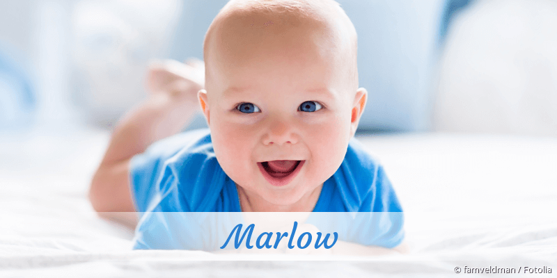 Name Marlow als Bild