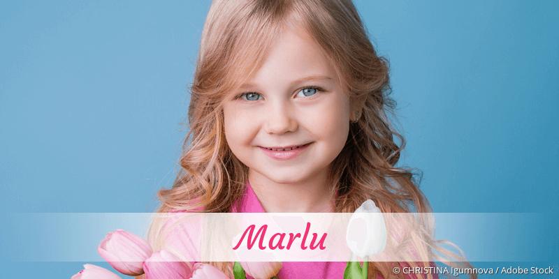 Name Marlu als Bild